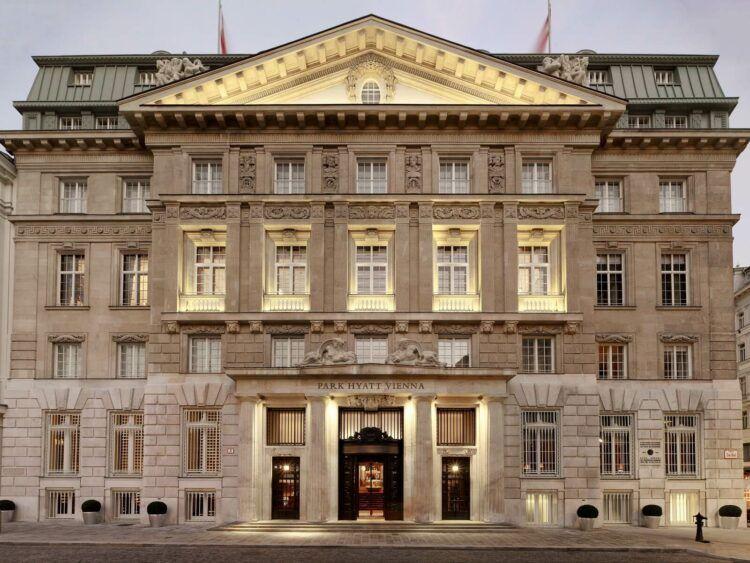 Park Hyatt Vienna Fassade Copyright
