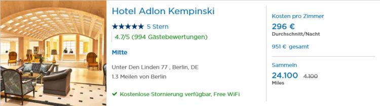 Pointshound Miles And Smiles Bonus Hotel Adlon Berlin