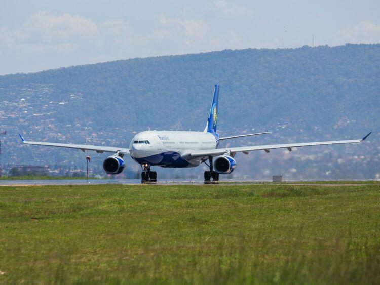 Rwandair Flugzeug Copyright