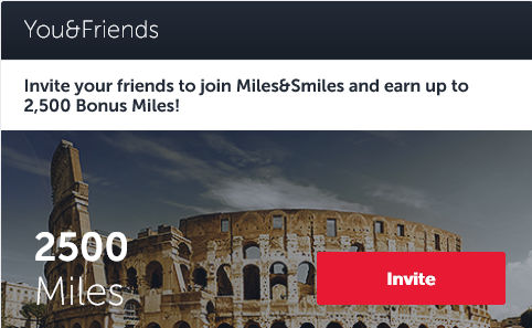 Turkish Airlines Miles And Smiles Freunde Empfehlen