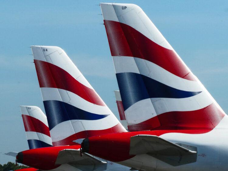 British Airways Flugzeuge Heckflossen Unsplash