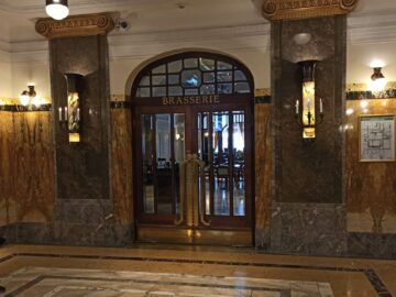 Le Meridien Grand Hotel Nuernberg Eingang Brasserie