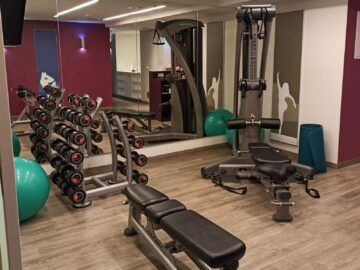 Le Meridien Grand Hotel Nuernberg Fitness Gewichte