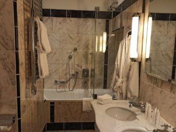 Le Meridien Grand Hotel Nuernberg Junior Suite Bad Badewanne