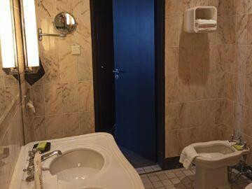 Le Meridien Grand Hotel Nuernberg Junior Suite Bad Waschbecken Bidet