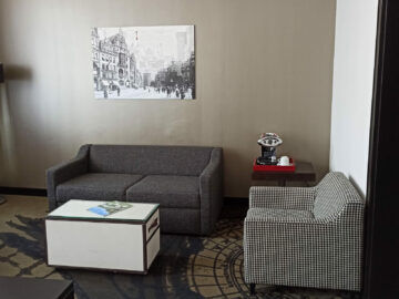 Le Meridien Grand Hotel Nuernberg Junior Suite Sitzbereich