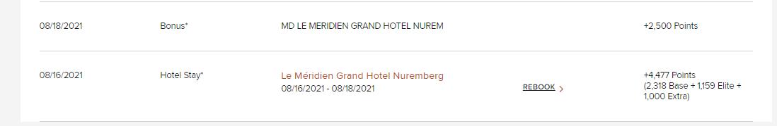 Le Meridien Grand Hotel Nuernberg Punkte