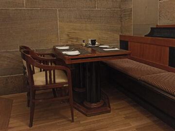 Le Meridien Grand Hotel Nuernberg Restaurant Tisch