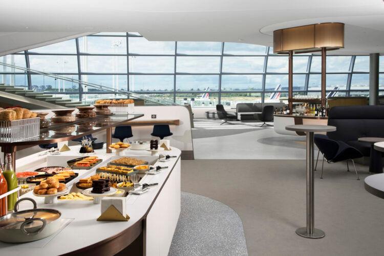 Neue Air France Lounge Paris Cdg Terminal 2f Copyright 1