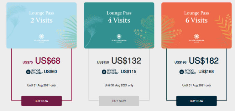 Plaza Premium Lounge Paesse Angebot