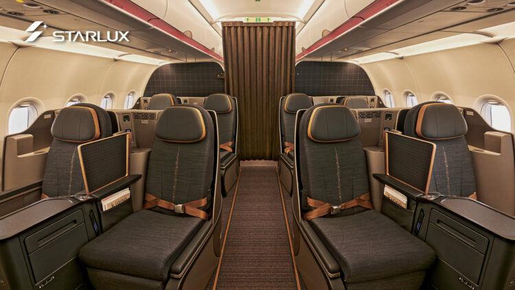 Starlux Business Class A321
