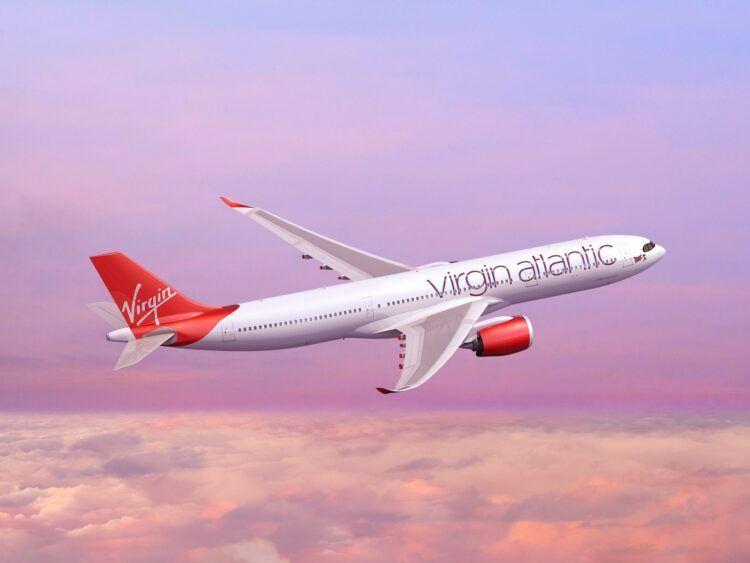 Vigin Atlantic A330 Flugzeug Copyright