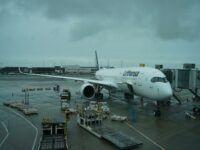 Lufthansa A350 900 Vancouver Airport