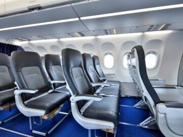 Lufthansa Neue Airspace Cabin Sitzreihe Copyright
