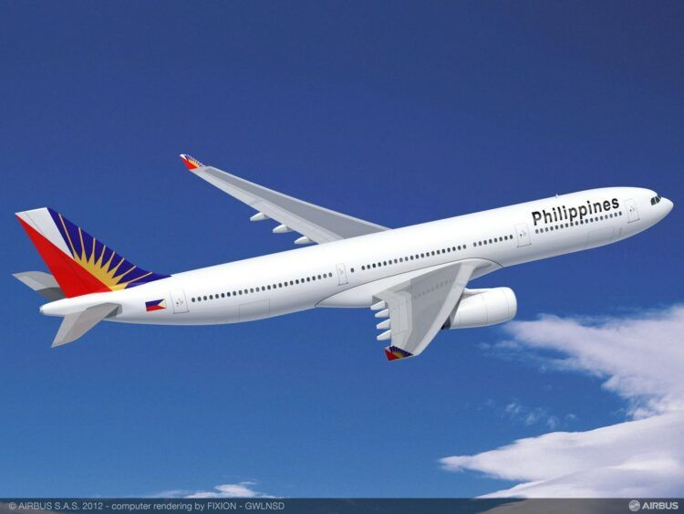 Philippine Airlines Airbus A330 300 Copyright