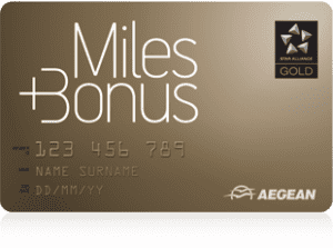 aegean miles and bonus gold status