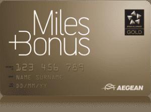 aegean miles and bonus gold status