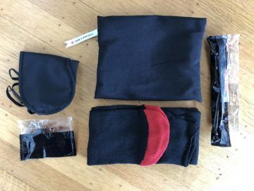 air canada business class boeing 777 amenity kit