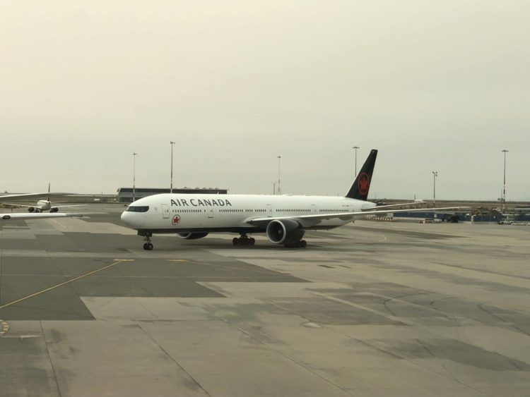 air canada business class boeing 777 flugzeug