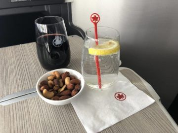 air canada business class boeing 777 nuesse wein