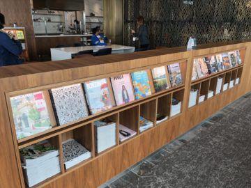 air canada maple leaf lounge vancouver auswahl zeitschriften