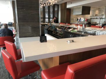 air canada maple leaf lounge vancouver bar
