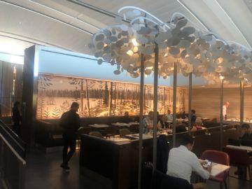 air canada signature suite toronto buffet bereich