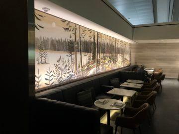 air canada signature suite toronto buffet bereich tische