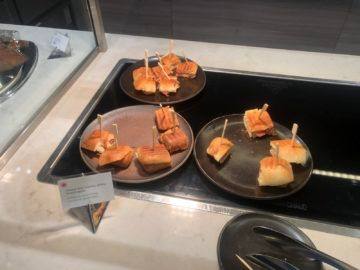 air canada signature suite toronto sandwiches