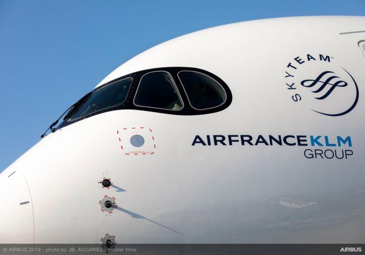 air france a350 nose copyright