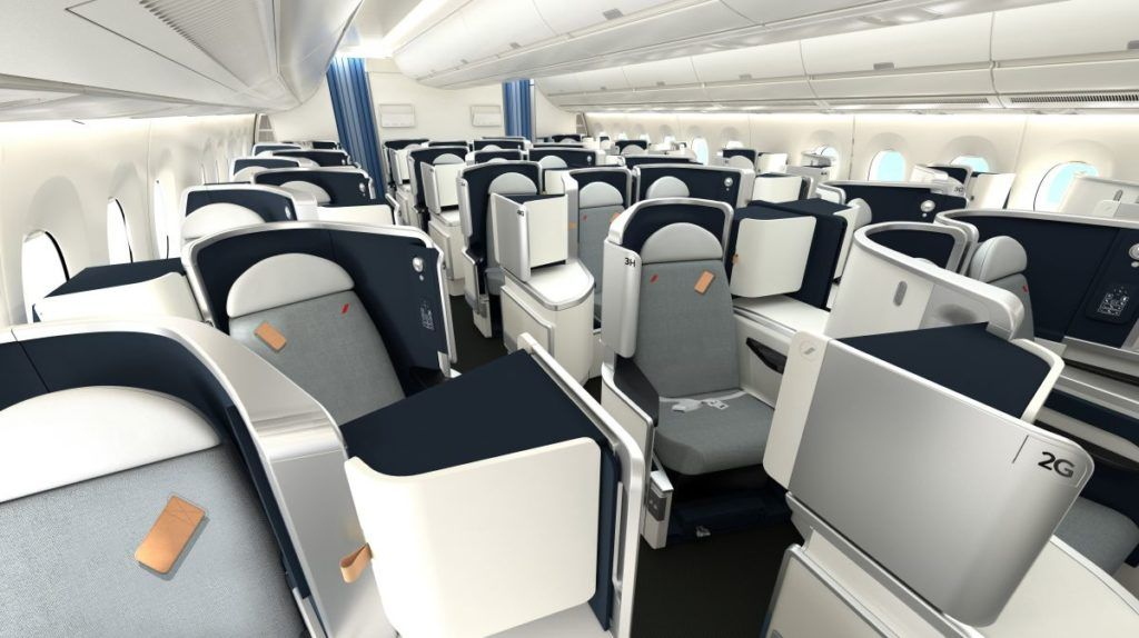 Air France Business Class im A350 &copy Air France