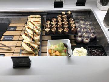 air new zealand brisbane international lounge kuchen