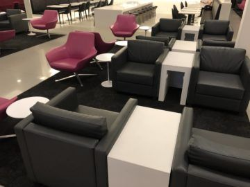 Air New Zealand Brisbane International Lounge Sessel Stuehle