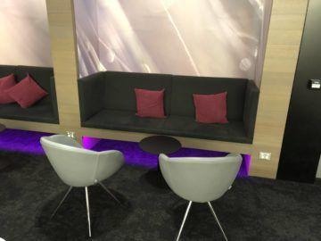 air new zealand brisbane international lounge sofa stuehle