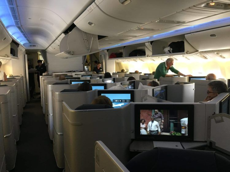 air canada business class boeing 777 kabine