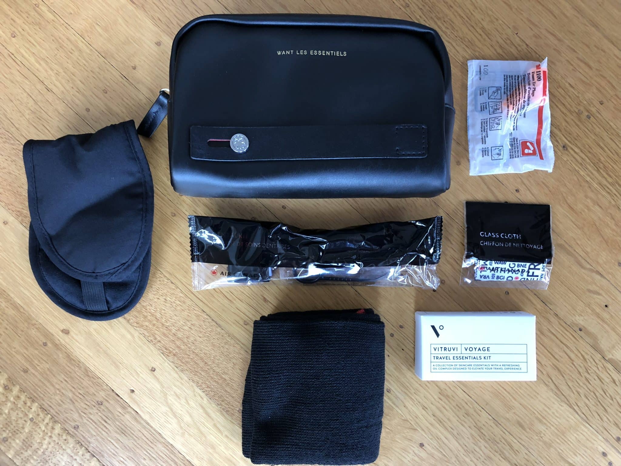 air canada business class boeing 787 9 amenity kit