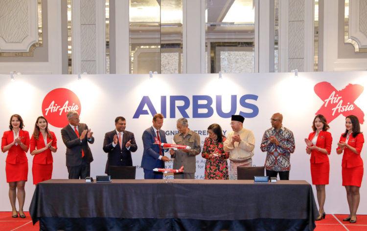 airasia bestellt airbus