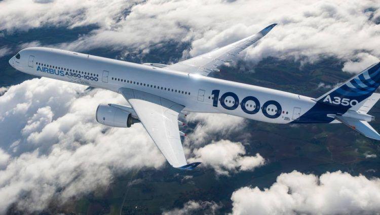 airbus a350 1000 flugzeug