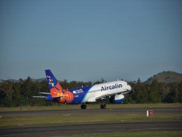 aircalin flugzeug start noumea