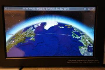 aircanada business class boeing 777 ansicht strecke