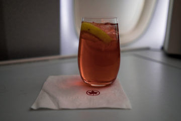 aircanada business class boeing 777 signature cocktail