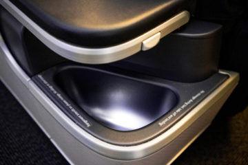 aircanada business class boeing 777 staufach armlehne