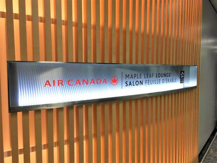 aircanada maple leaf gold lounge frankfurt eingangsbereich