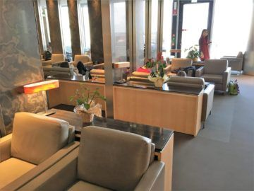 aircanada maple leaf gold lounge frankfurt sessel