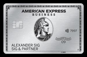 75.000 Punkte (60.000 Meilen) mit der American Express Platinum Card (nur bis 07.10.2020)