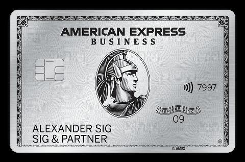 american express business platinum card metall