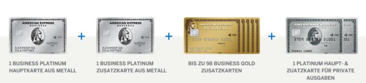 american express business platinum kreditkarte zusatzkarten