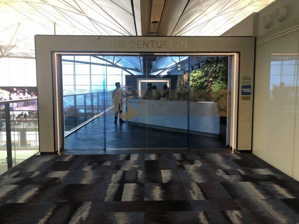 American Express Centurion Lounge Hong Kong Centurion Lounge