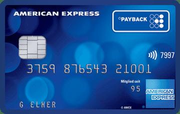 3.000 Punkte/Meilen mit der Payback American Express Kreditkarte