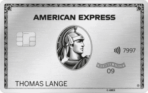 american express platinum kreditkarte metall
